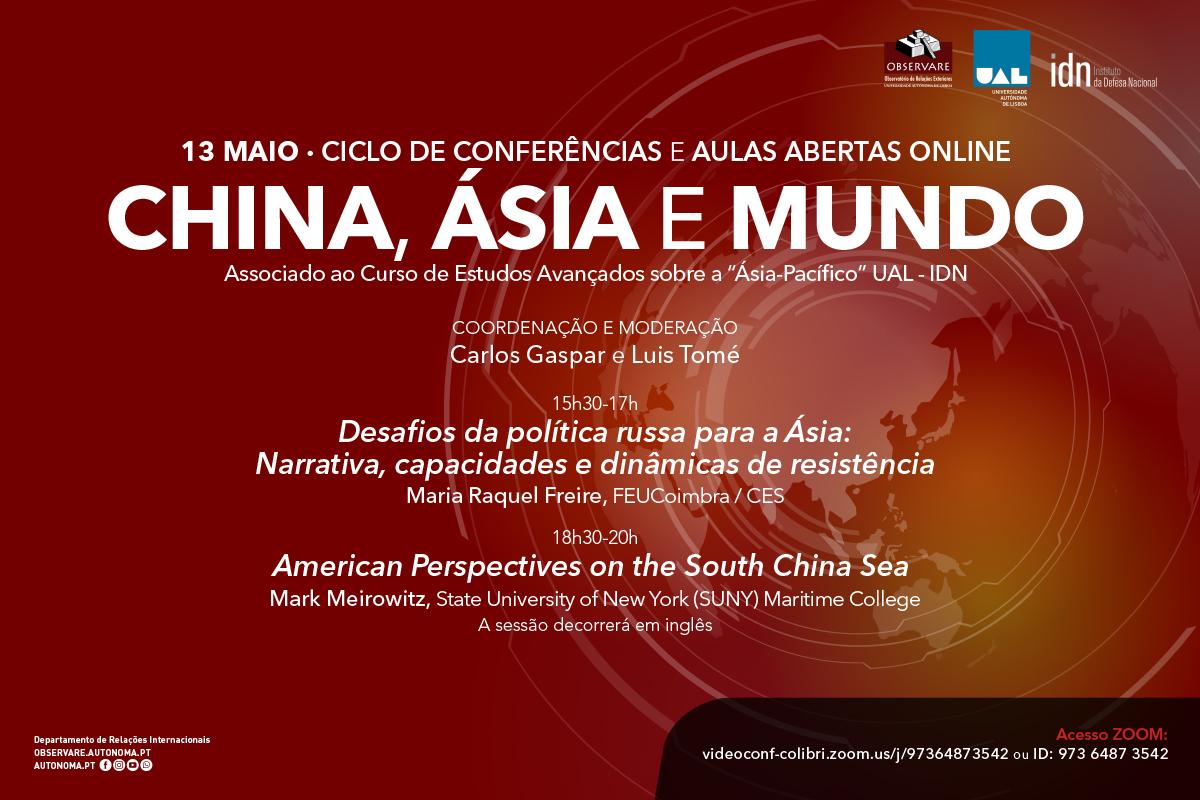 Ciclo de Conferências China, Ásia e Mundo