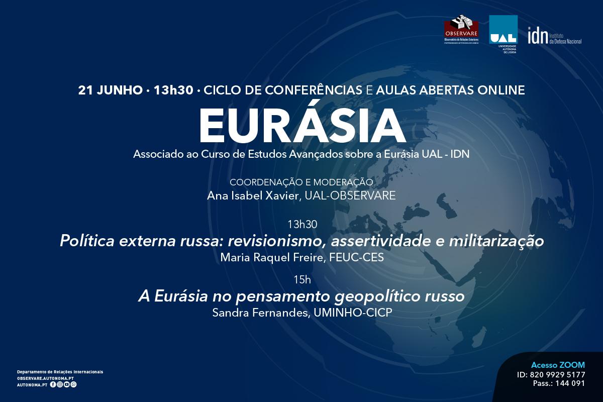 Ciclo de Conferências Eurásia
