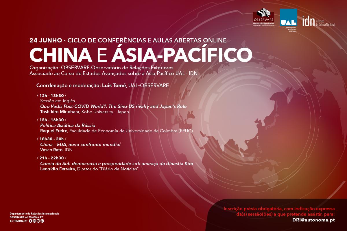 Ciclo de Conferências China e Ásia-Pacífico