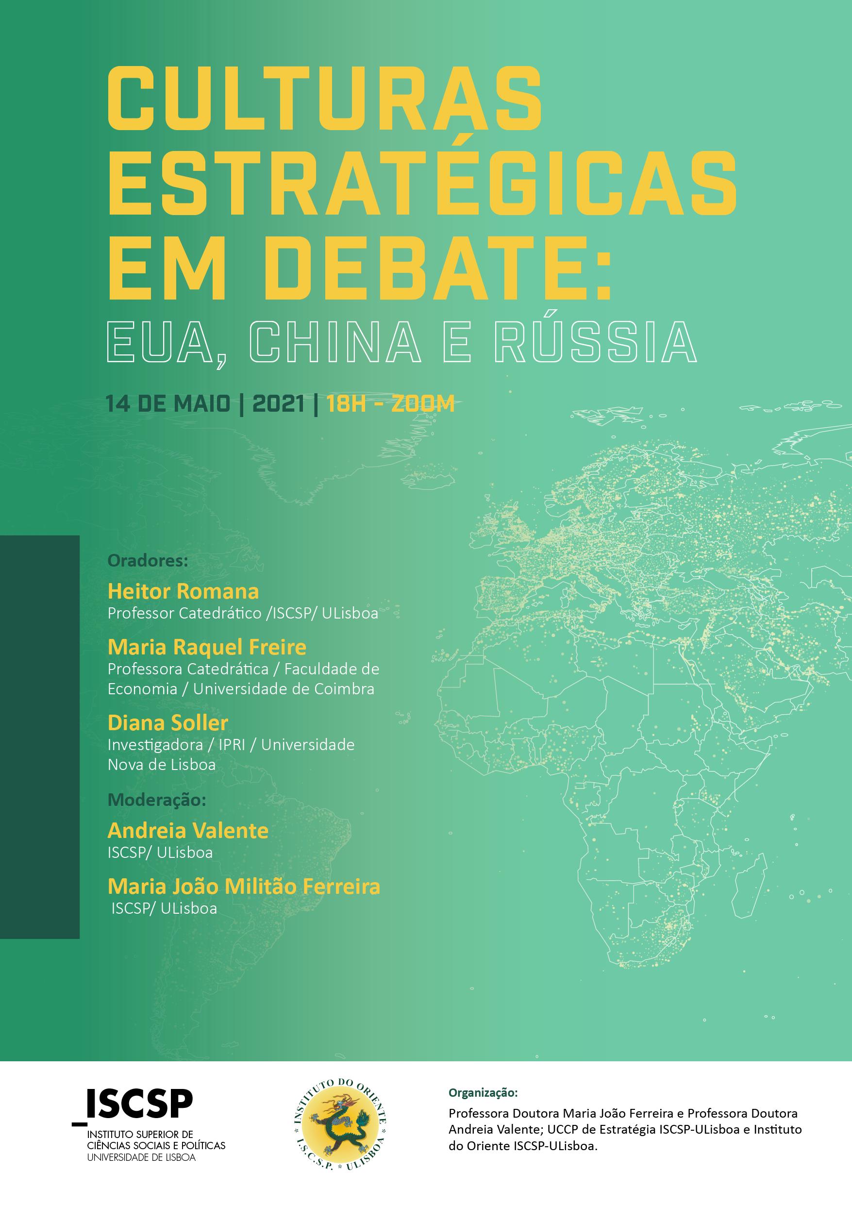 Culturas estratégicas em debate: EUA, China e Rússia